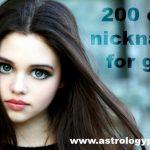 200 best cute nicknames for girls
