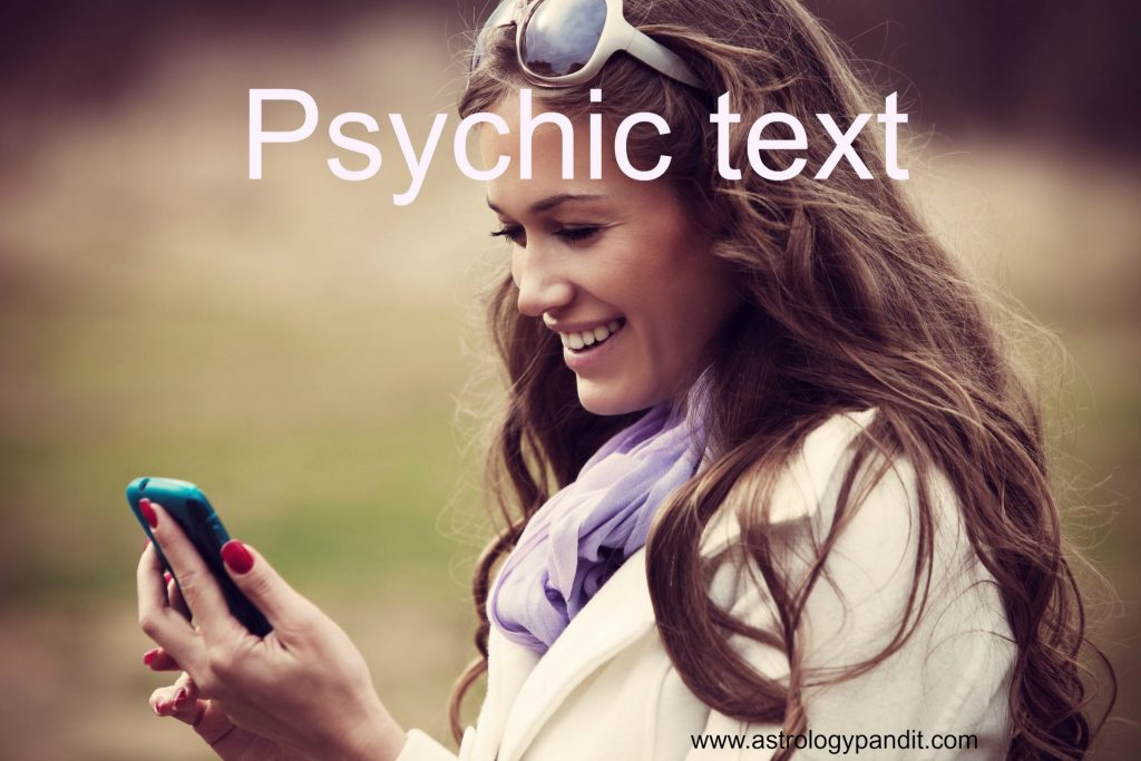 psychic text