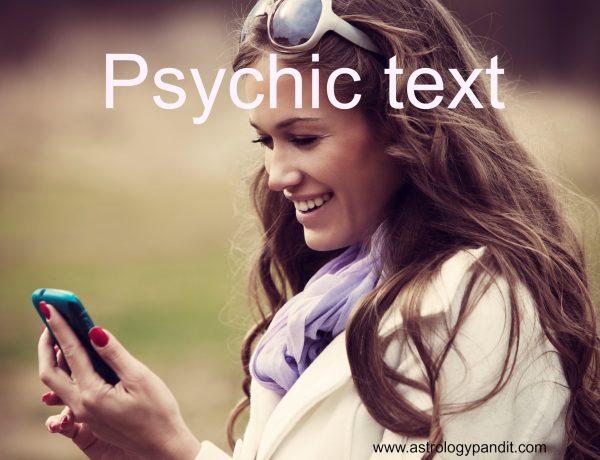 psychic text
