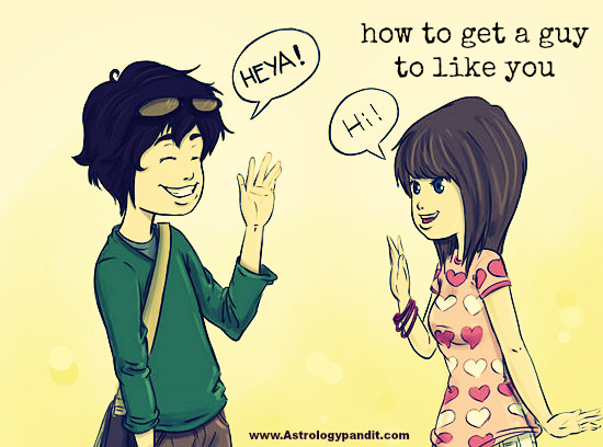 how to get a guy to like you