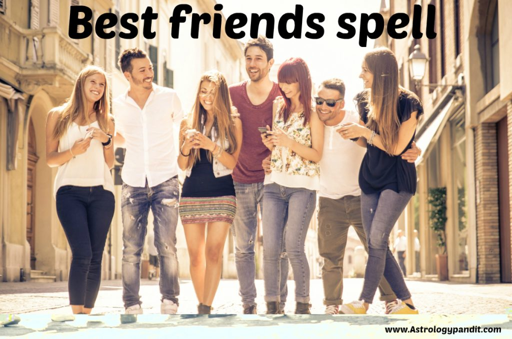 best friends spell
