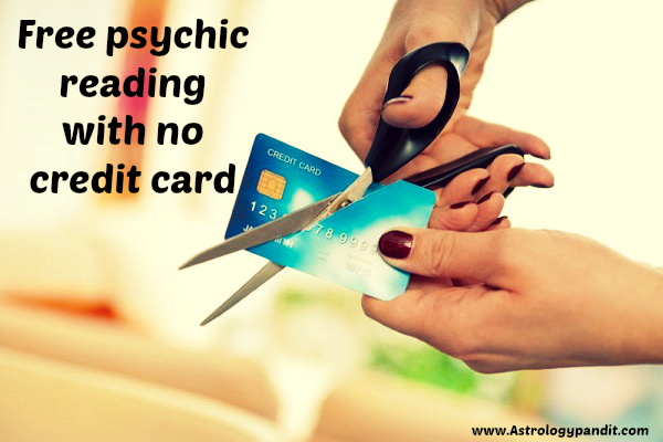 free psychic reading with no credit card