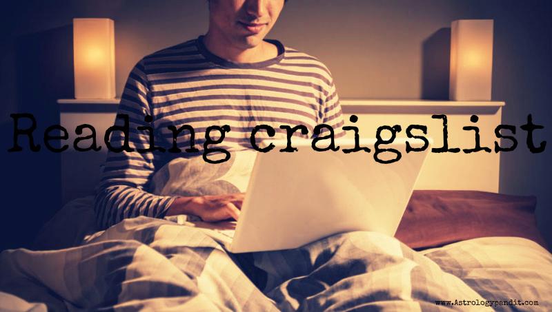 reading craigslist