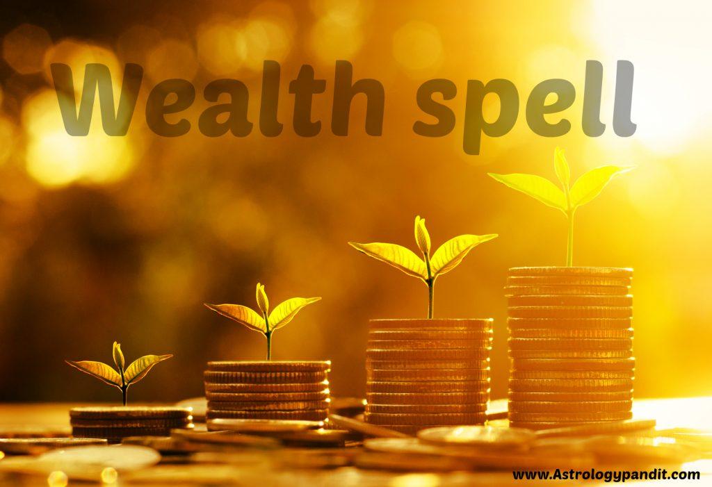 wealth spell