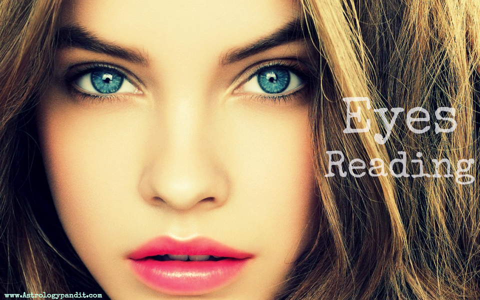 eyes reading