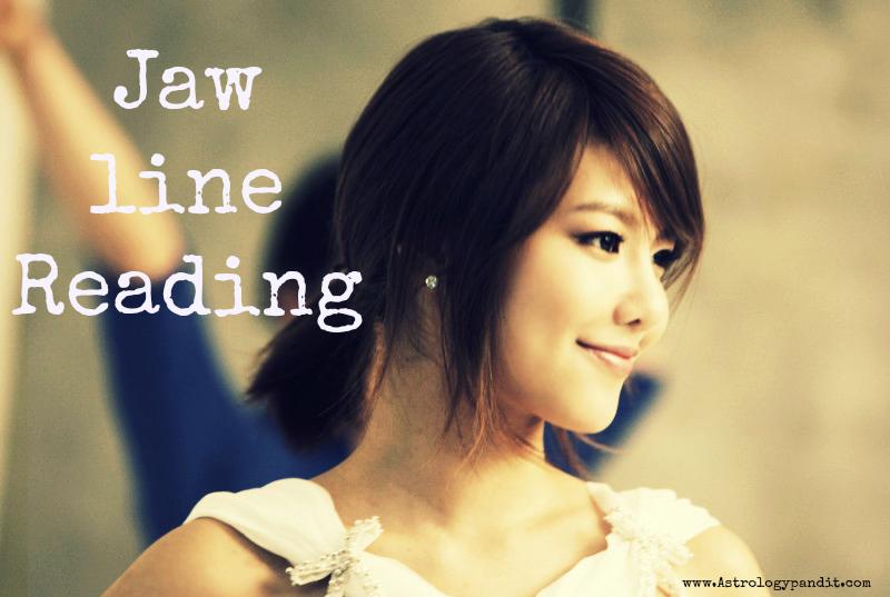 jaw line reading