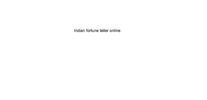 indian fortune teller onine
