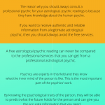 Astrological Psychic Readings and Why Consult a Professional