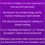 Importance of Spiritual psychic readings