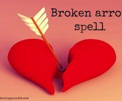 broken arrow spell get a psychic help you in broken arrow spell